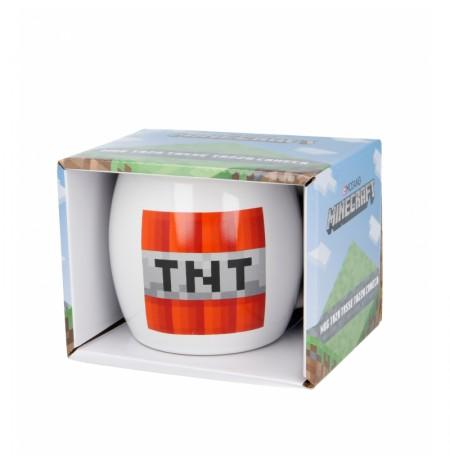 Minecraft keramikinis apvalus puodelis (380ml)