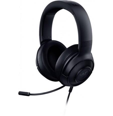 RAZER KRAKEN X 7.1 juodos laidinės ausinės su mikrofonu | 3.5mm