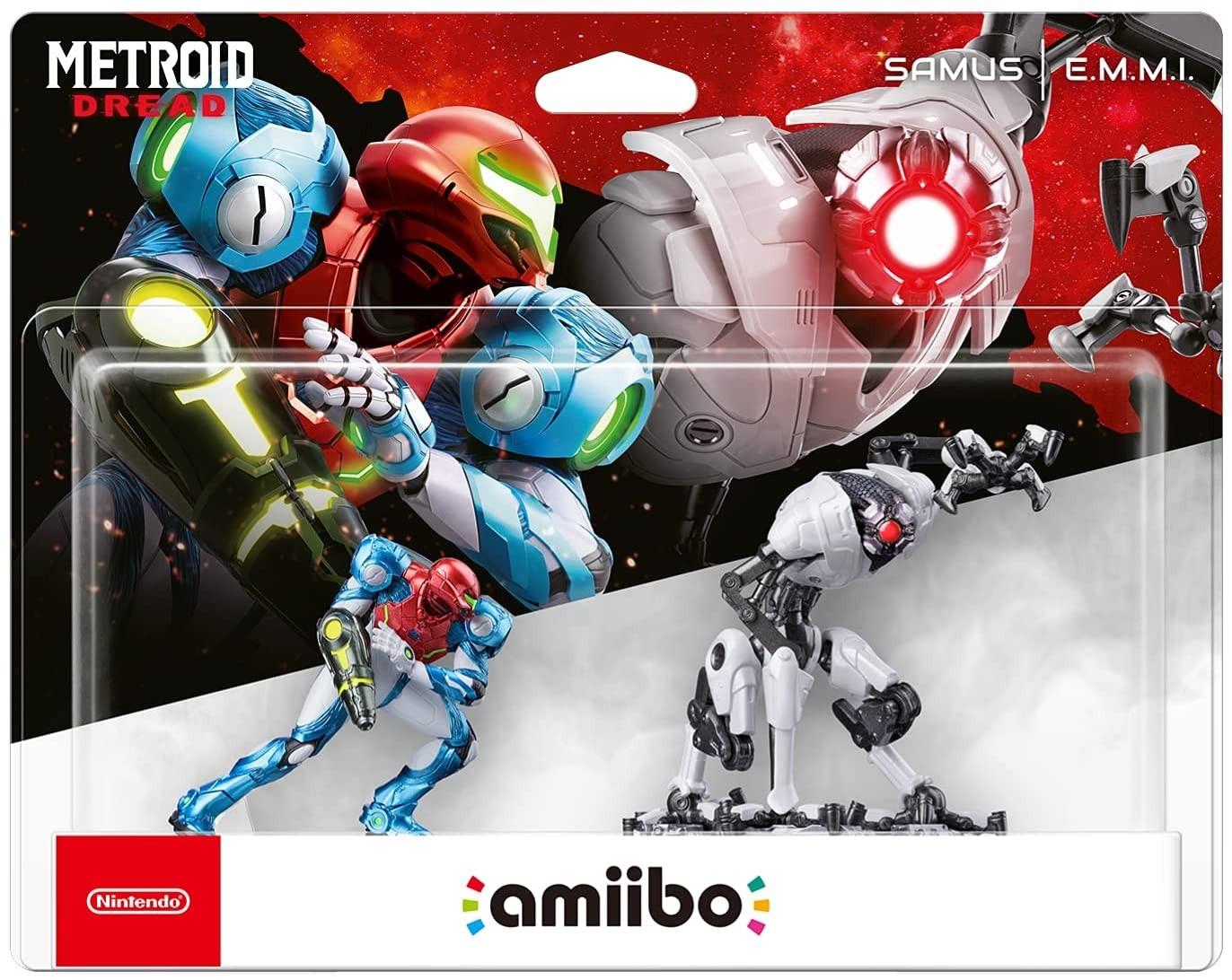 Metroid Dread SAMUS and E.M.M.I. amiibo 2 pack