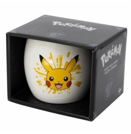 Pokemon Pikachu keramikinis apvalus puodelis (384ml)
