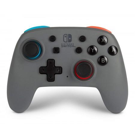 PowerA Nano Enhanced (Grey-Neon) belaidis valdiklis skirtas Nintendo Switch
