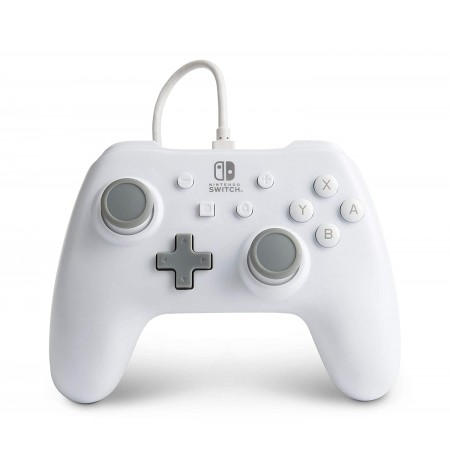 PowerA WIRED CONTROLLER FOR NINTENDO SWITCH (White)