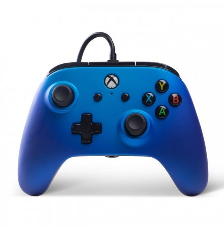 PowerA Enhanced Wired Controller   Xbox One (Sapphire Fade)