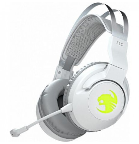 ROCCAT Elo 7.1 Air Wireless Gaming Headset   White (ROC-14-142-02)