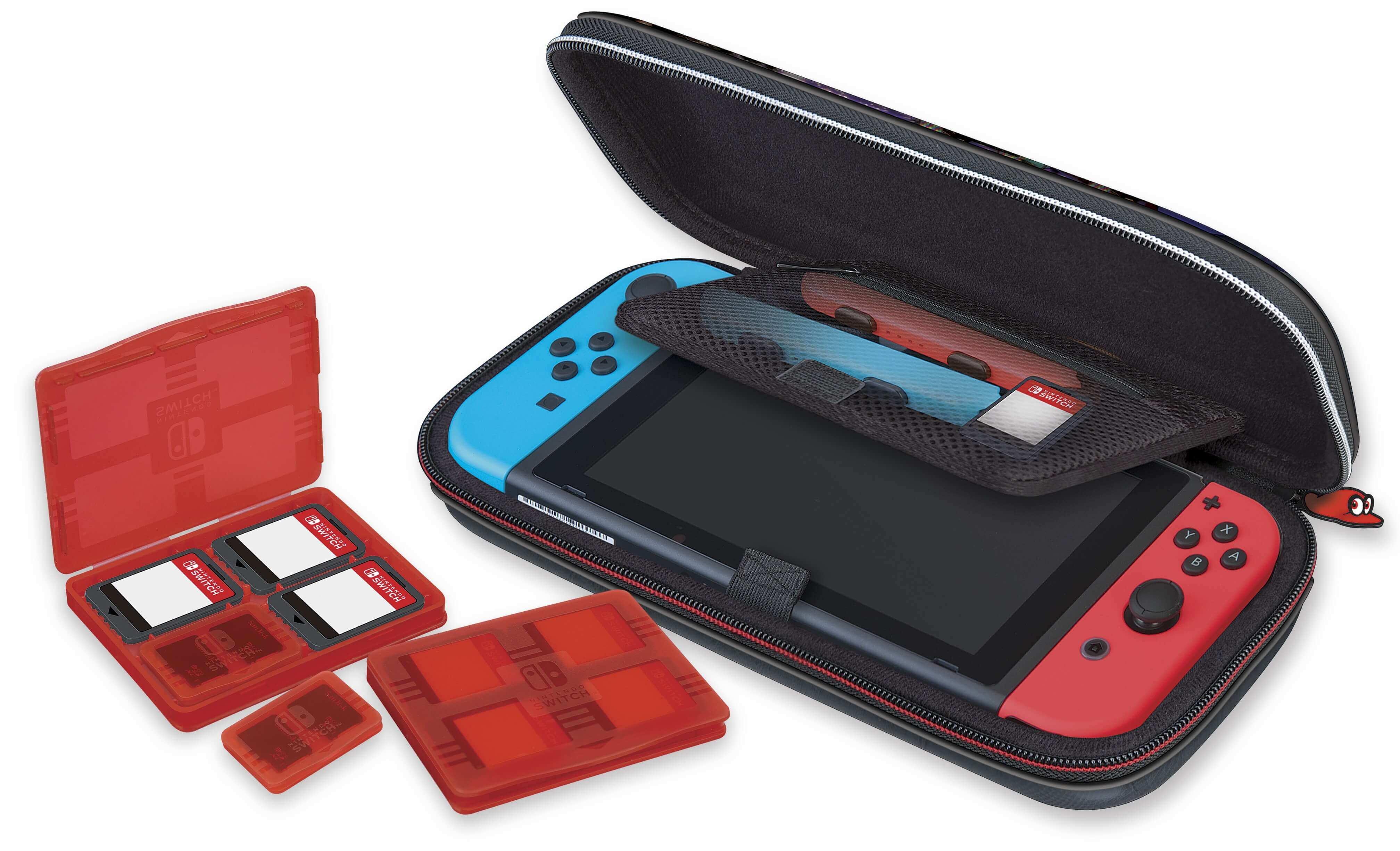 Game Traveler Deluxe Travel Case Super Mario Odyssey
