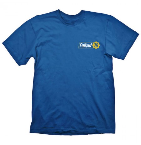 Fallout Vault 76 marškinėliai | L Dydis