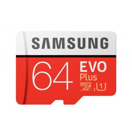 Samsung Evo Plus 64GB MICROSDXC with SD adapter