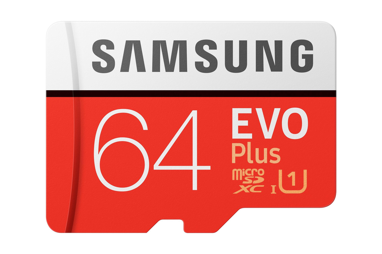 Atminties kortelė Samsung MicroSDXC Evo Plus 64GB