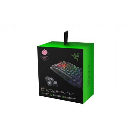 Razer PBT Keycaps   US, UK, rožinė