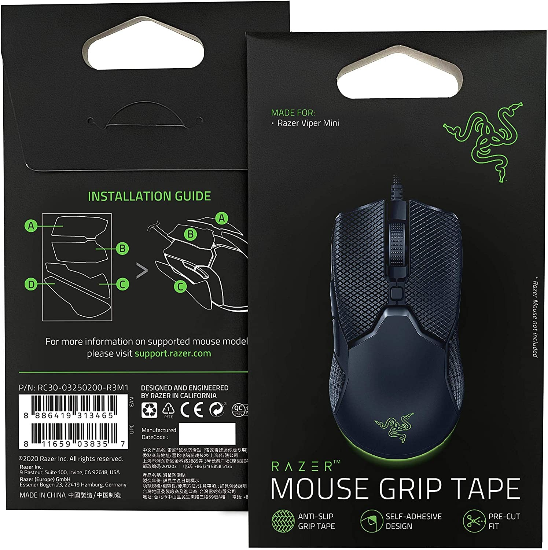 Razer Mouse Grip Tape skirti Razer Viper Mini    Juodi