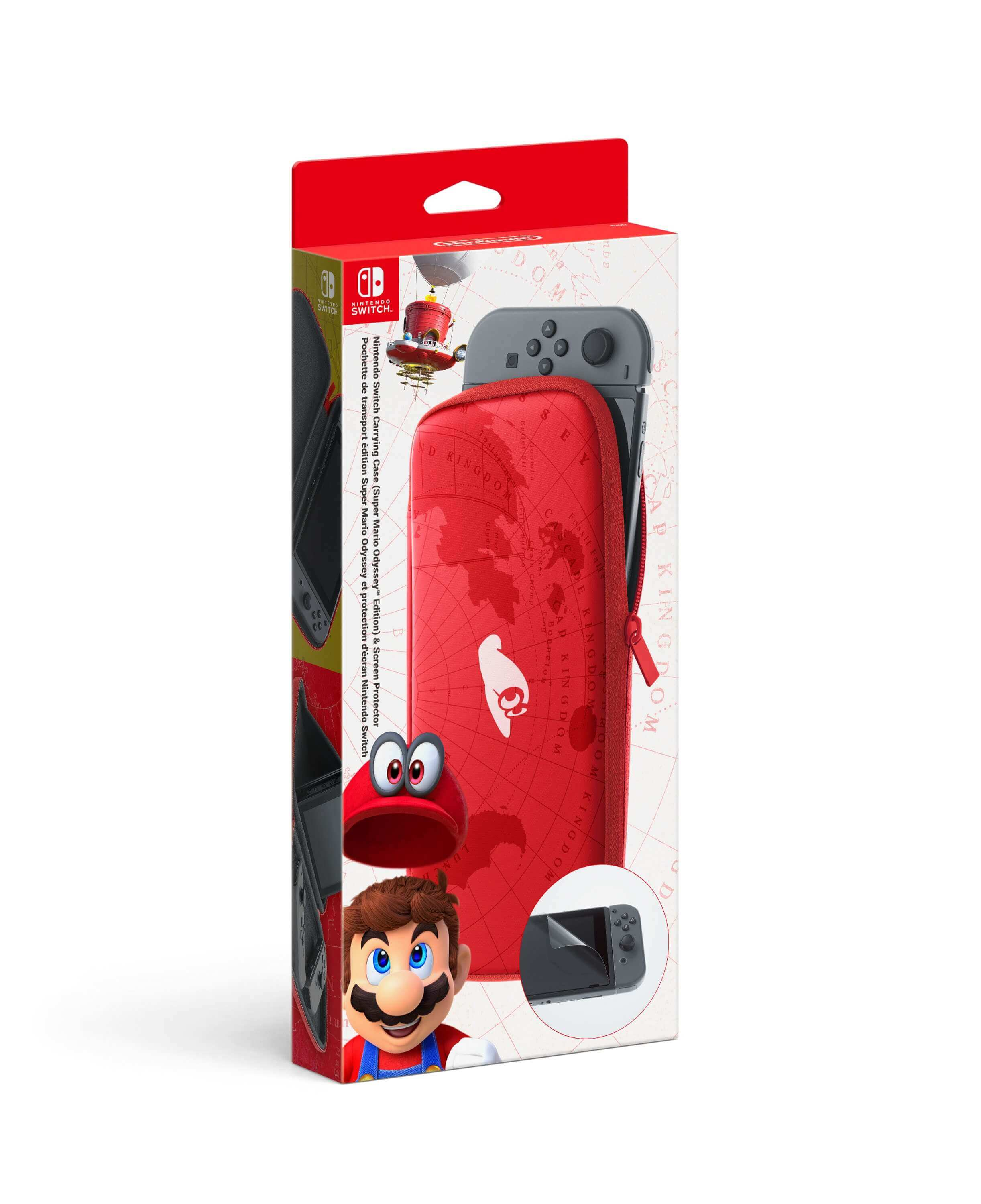 Nintendo Switch Carrying Case Super Mario Odyssey Edition &