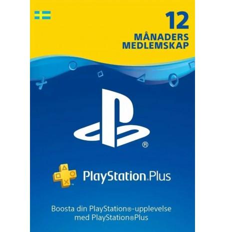 Playstation PLUS Card 365D (Švedija)