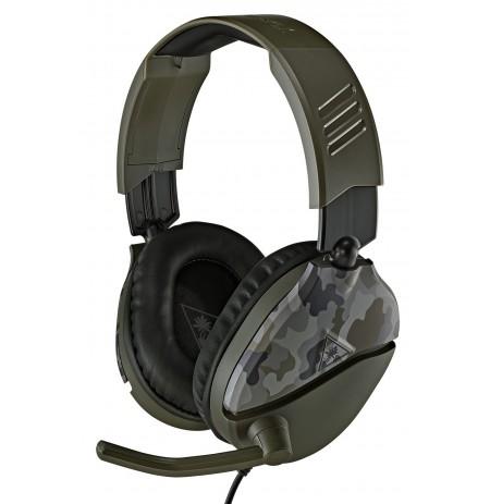 Turtle Beach Recon 70 (Green Camo) wired headphones | 3.5mm