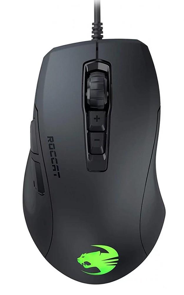 Roccat Kone Pure Ultra AIMO juoda laidinė RGB žaidimų pelė