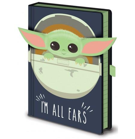 Star Wars: The Mandalorian (I'm All Ears Crib) A5 užrašų knygutė