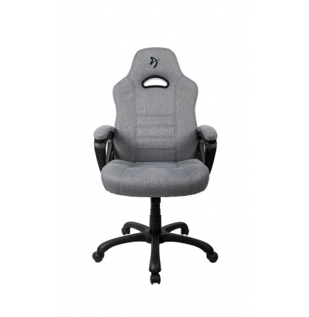 Arozzi ENZO WOVEN FABRIC pilkos/juodos spalvos ergonominė kėdė (REFURBISHED)