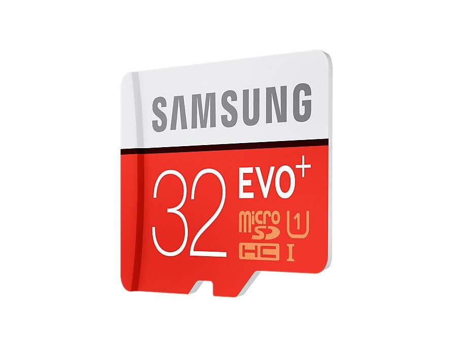 Atminties kortelė Samsung MicroSDXC Evo+ 32GB
