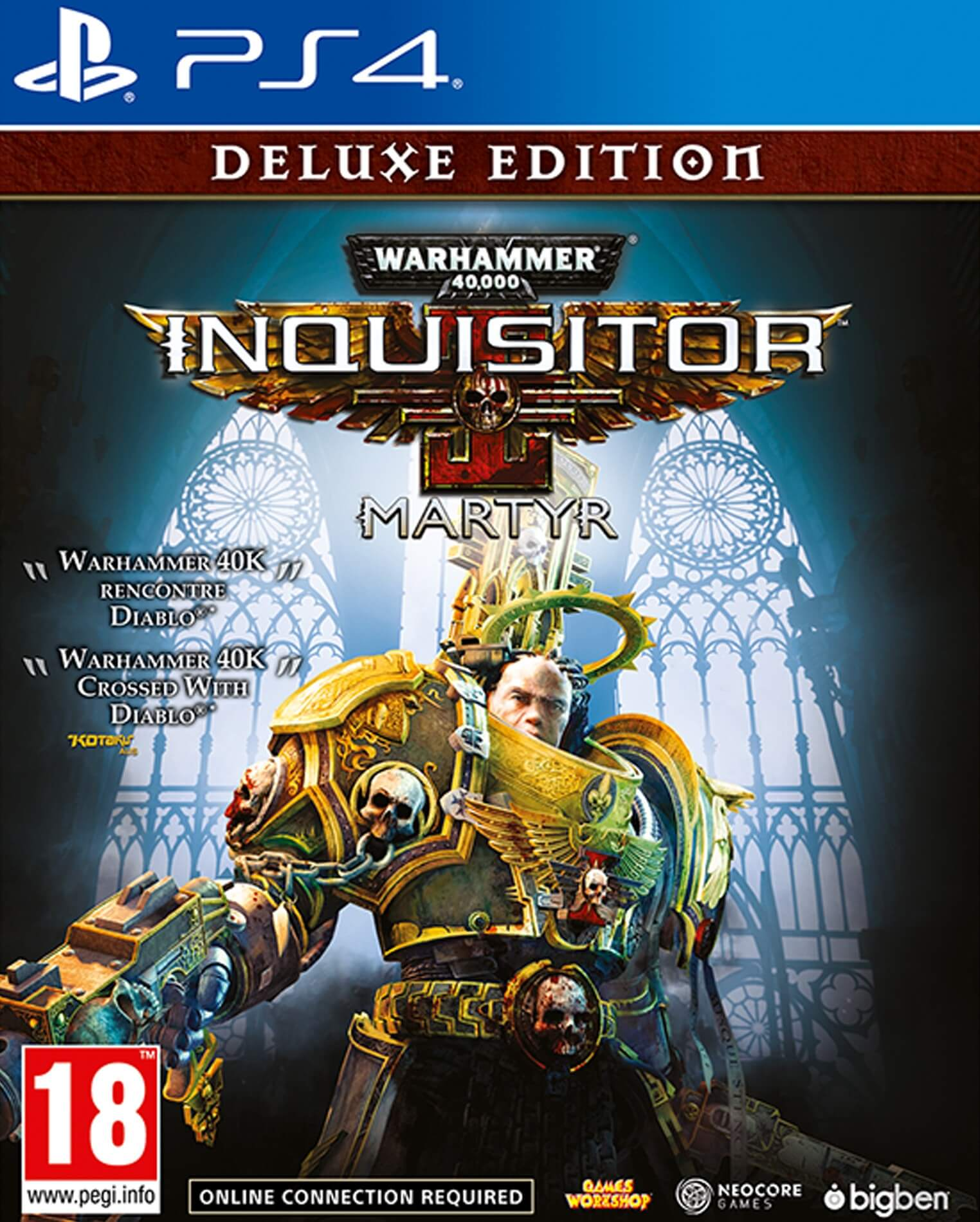 Warhammer 40K Inquisitor Martyr Deluxe Edition PS4