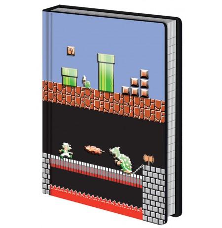Super Mario Bros (Level Builder) A5 užrašų knygutė