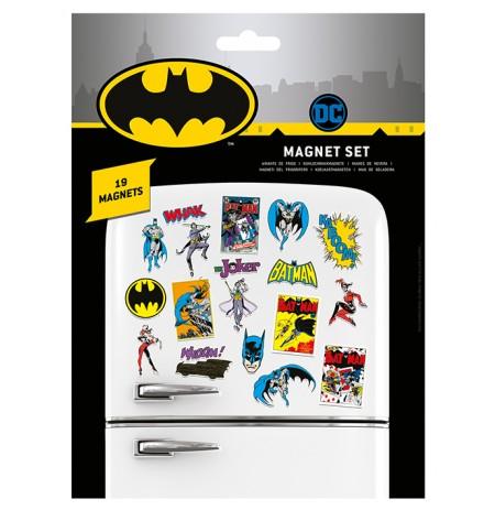 DC Comics (Batman Retro) magnetukų rinkinys