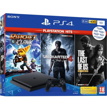 Sony PlayStation 4 Slim 500GB - Black