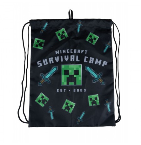 Minecraft (Survival Camp) Gym Bag