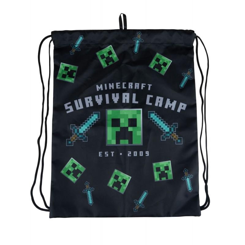 Minecraft (Survival Camp) sportinis krepšys