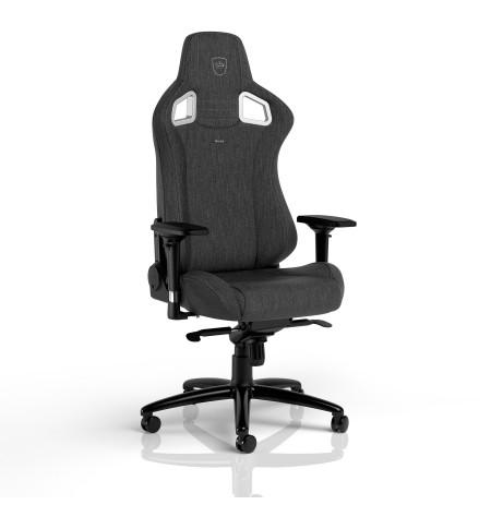 Noblechairs EPIC TX ergonominė kėdė (Medžiaginė, tamsiai pilka)