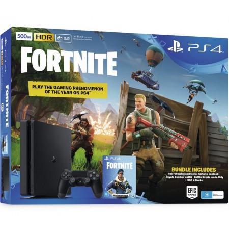 Žaidimų konsolė SONY PlayStation 4 (PS4) Slim 500GB - Juoda