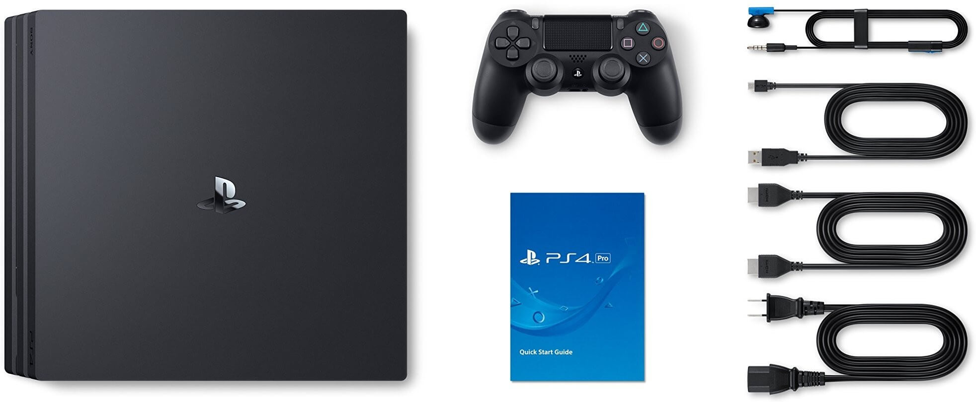 Sony PlayStation 4 Pro 1TB (black)
