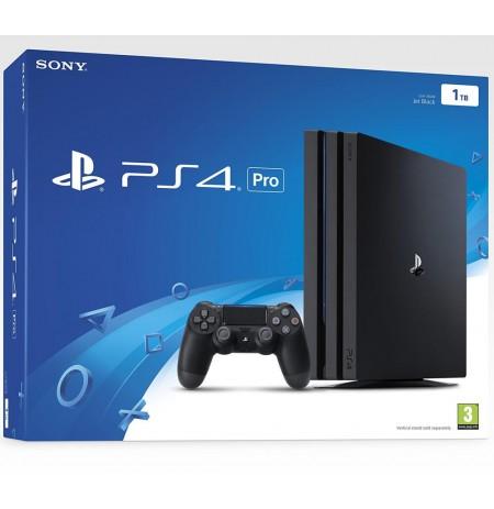 Žaidimų konsolė SONY PlayStation 4 (PS4) Pro 1TB (juoda) PS4
