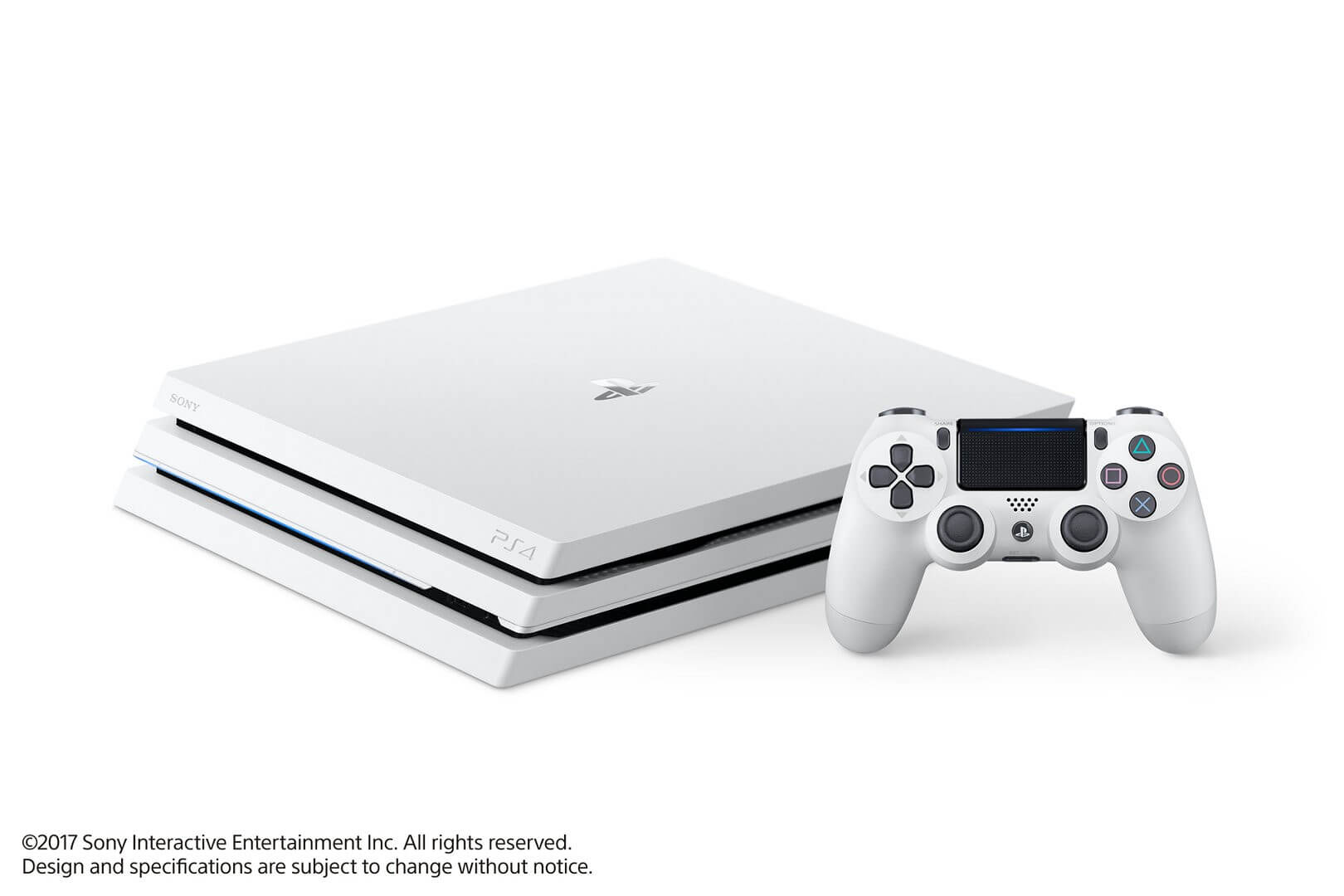 Žaidimų konsolė SONY PlayStation 4 (PS4) Pro 1TB (balta)