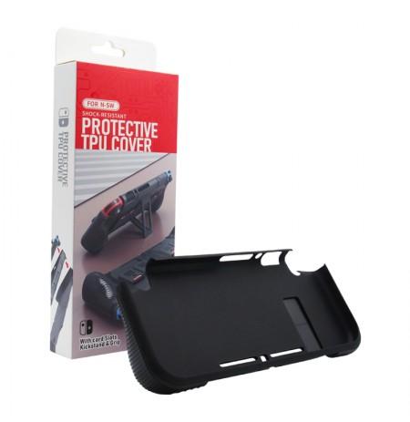 Nintendo Switch konsolės dėklas su 4 diskelių saugykla (Juoda)