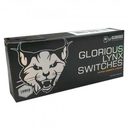 Glorious PC Gaming Race Lynx switches | Linear Lubed (36pcs)