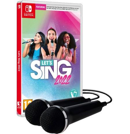 Let's Sing 2022 + 2 Mikrofonai