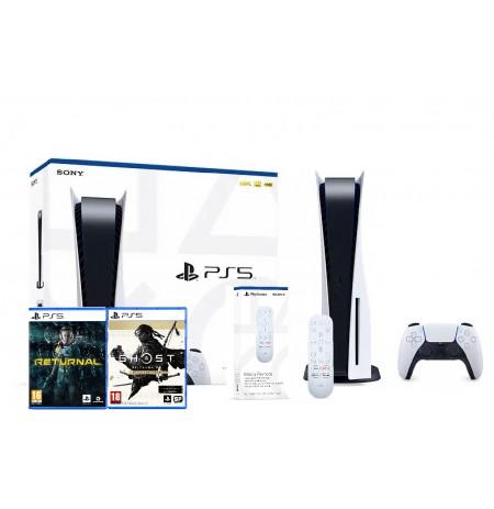 PlayStation 5 žaidimų konsolė 825GB (PS5) BUNDLE 3