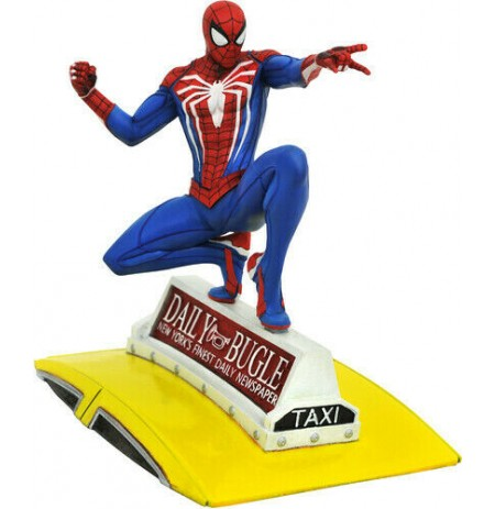 Marvel: Game Spider-Man on Taxi statue | 23 cm