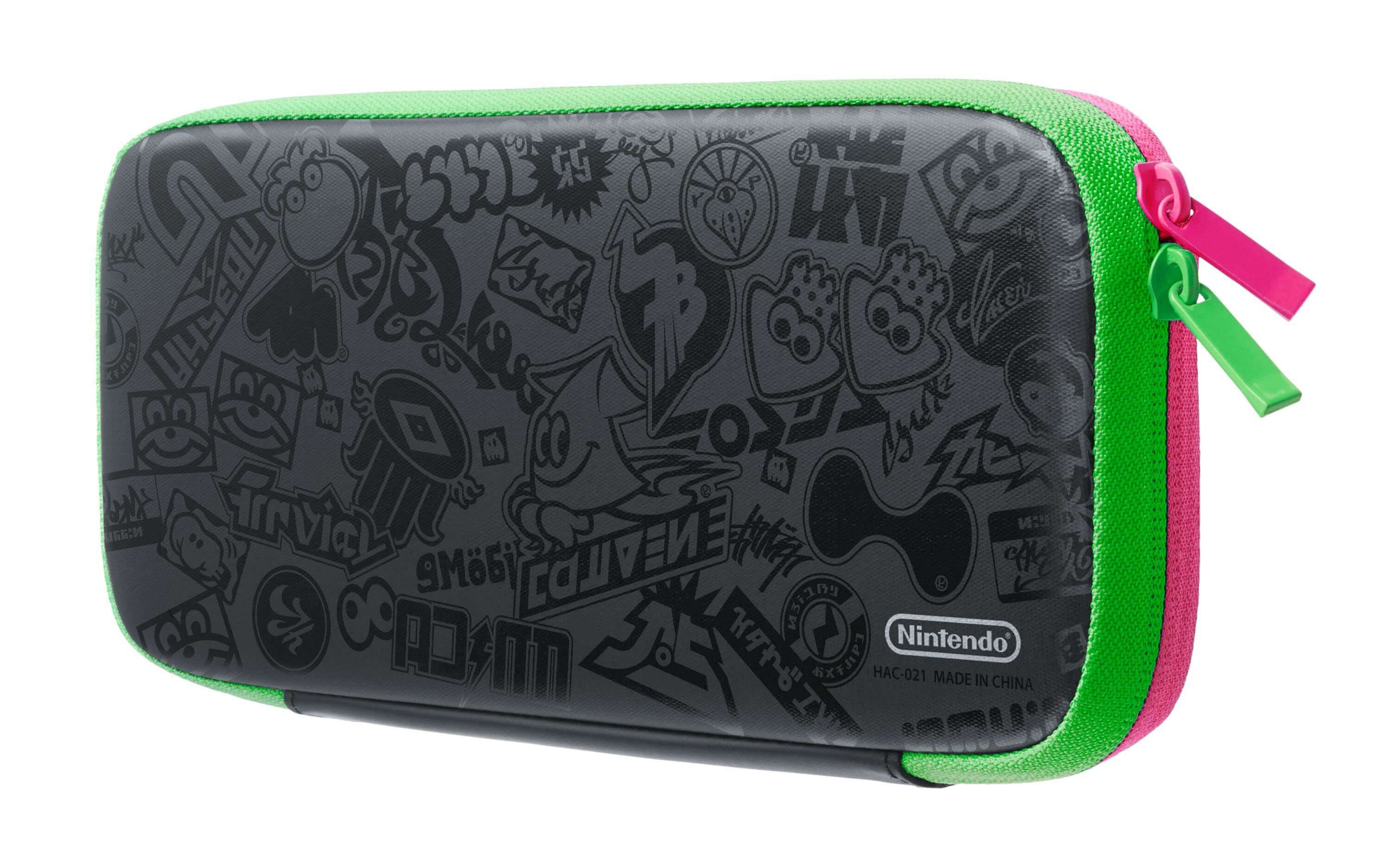 Nintendo Switch Carrying Case Splatoon 2 Edition & Screen Protector