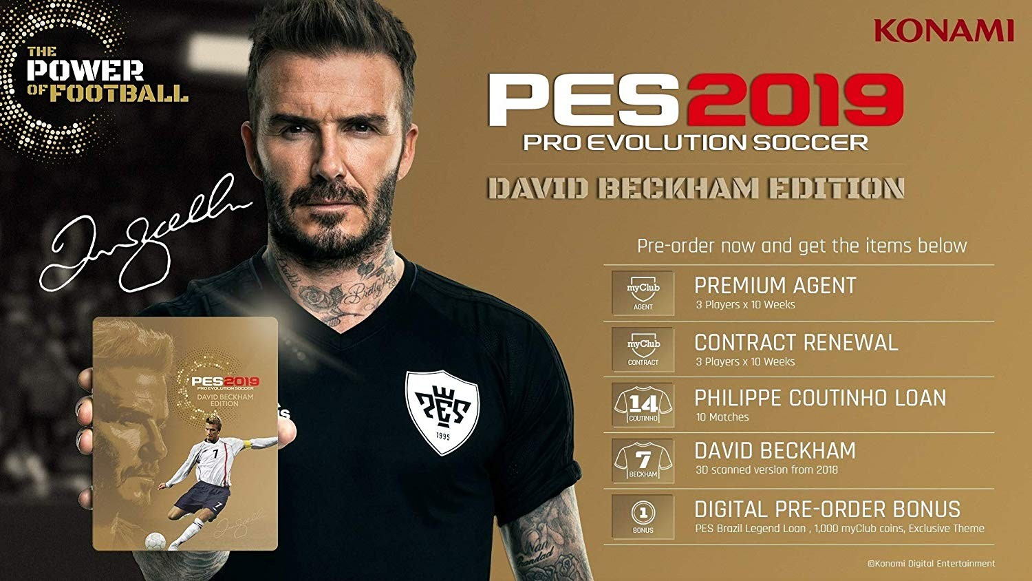 Pro Evolution Soccer 2019 BECKHAM EDITION