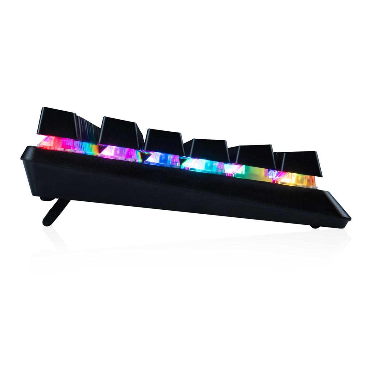 MODECOM VOLCANO LANPARTY RGB žaidimų klaviatūra BLUE US