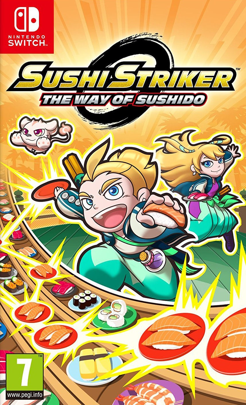 Sushi Striker: The Way of Sushido XBOX