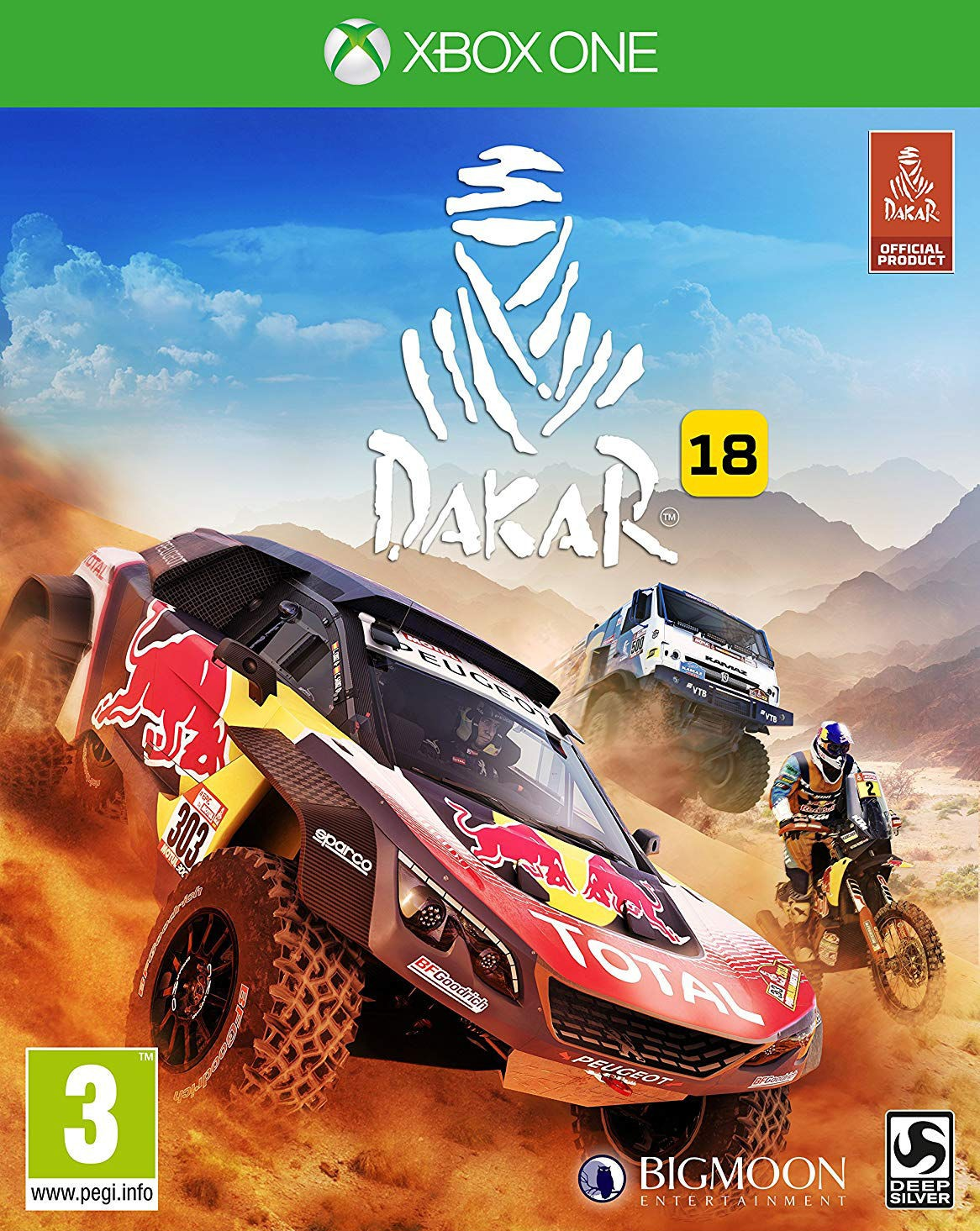 DAKAR 18 Day One Edition XBOX