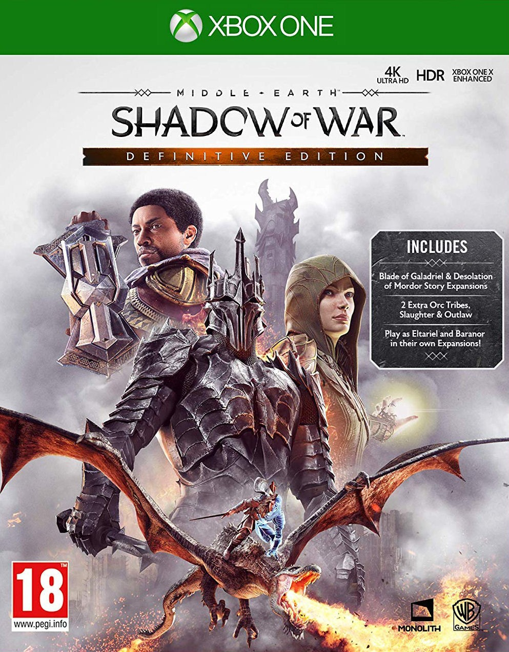Middle-earth: Shadow of War Definitive Edition