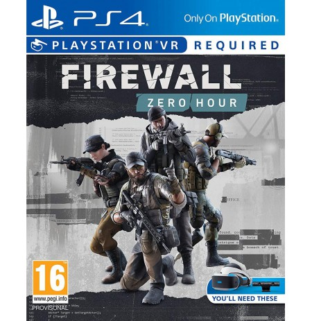 Firewall Zero Hour VR PS4