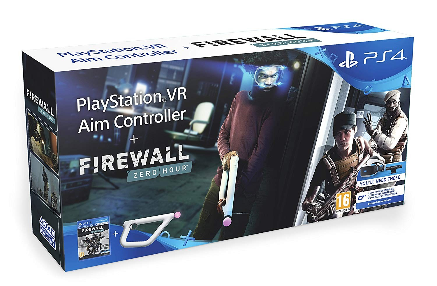 Firewall: Zero Hour + Sony PlayStation VR Aim Controller