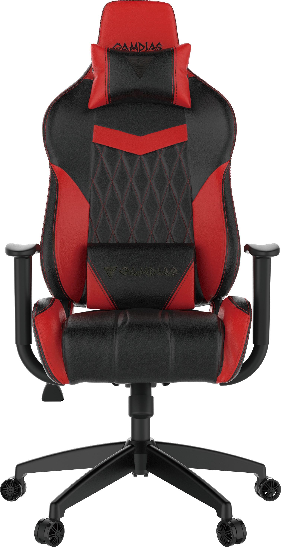 KĖDĖ GAMDIAS Achilles E2-L - (juoda/raudona)