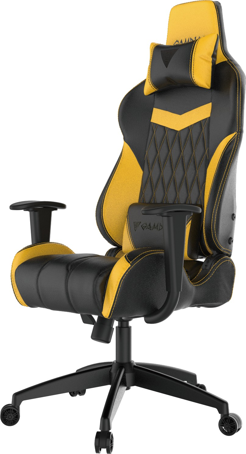 GAMING CHAIR GAMDIAS Achilles E2-L - (black/yellow)