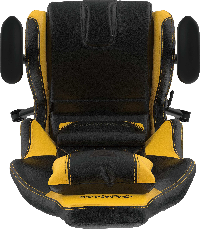 KĖDĖ GAMDIAS Achilles E2-L - (juoda/geltona)