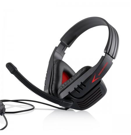 MODECOM RANGER MC-823 Black/Red žaidimų ausinės