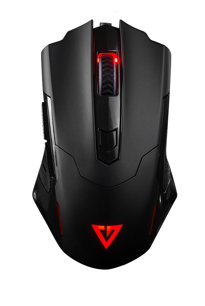 MODECOM Volcano MC-GM4 black wired optical mouse RGB | 7200 DPI